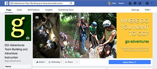 Find Us on Facebook! https://www.facebook.com/go.adventures/