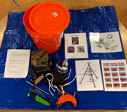 Adventure In A Bucket - delivering a combination of tools and instruction for at-home adventures